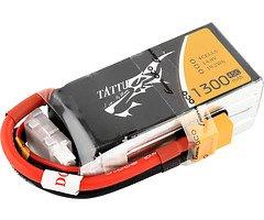Tattu Batterie LiPo Akku 1300mAh 4S1P  14.8V 45C