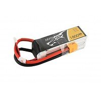 Tattu Batterie LiPo Akku 1800mAh 4S 1P 14.8V 45C