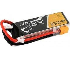 Tattu Batterie LiPo Akku 2300mAh 4S1P 14.8V 45C