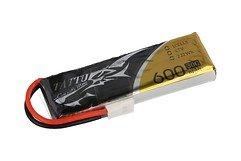 Tattu Batterie LiPo Akku 30C 600mAh 1S1P Molex 6er Pack