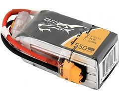 Tattu Batterie LiPo Akku 1550mAh 4S1P 14,8V 75C