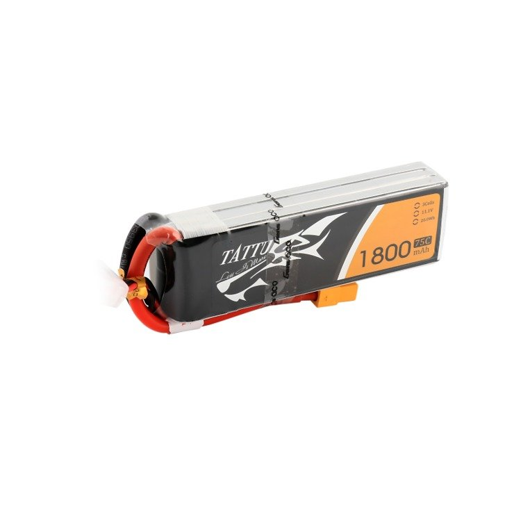 Tattu Batterie LiPo Akku 1800mAh  3S1P 11.1V 75C - Pic 2