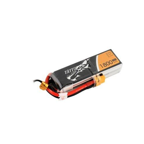 Tattu Batterie LiPo Akku 1800mAh 4S1P 14.8V 75C