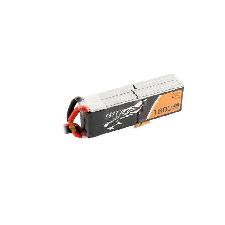 Tattu Batterie LiPo Akku 1800mAh 4S1P 14.8V 75C - Pic 2