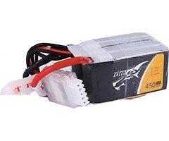 Tattu Batterie LiPo Akku 450mAh 14.8V 75C 4S1P