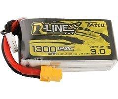 Tattu R-Line V3 Batterie LiPo Akku 1300 mAh 4S1P 120C XT60