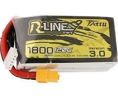 Tattu R-Line V3 Batterie LiPo Akku 1800 mAh 4S1P 120C XT60