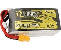 Tattu R-Line V3 Batterie LiPo Akku 2000 mAh 4S1P 120C XT60