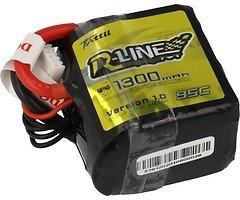 Tattu R-Line Batterie LiPo Akku 1300mAh 95C 4S1P Square