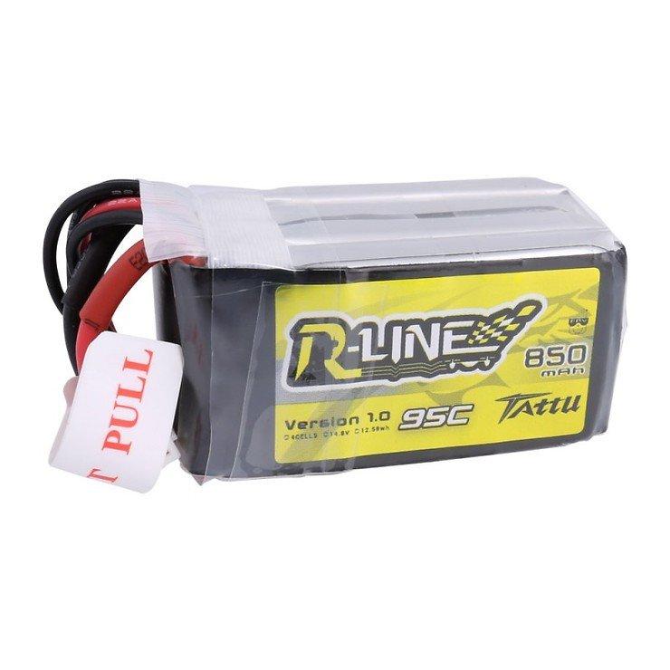 Tattu R-Line Batterie LiPo Akku 850mAh 95C 4S1P XT30 - Pic 3