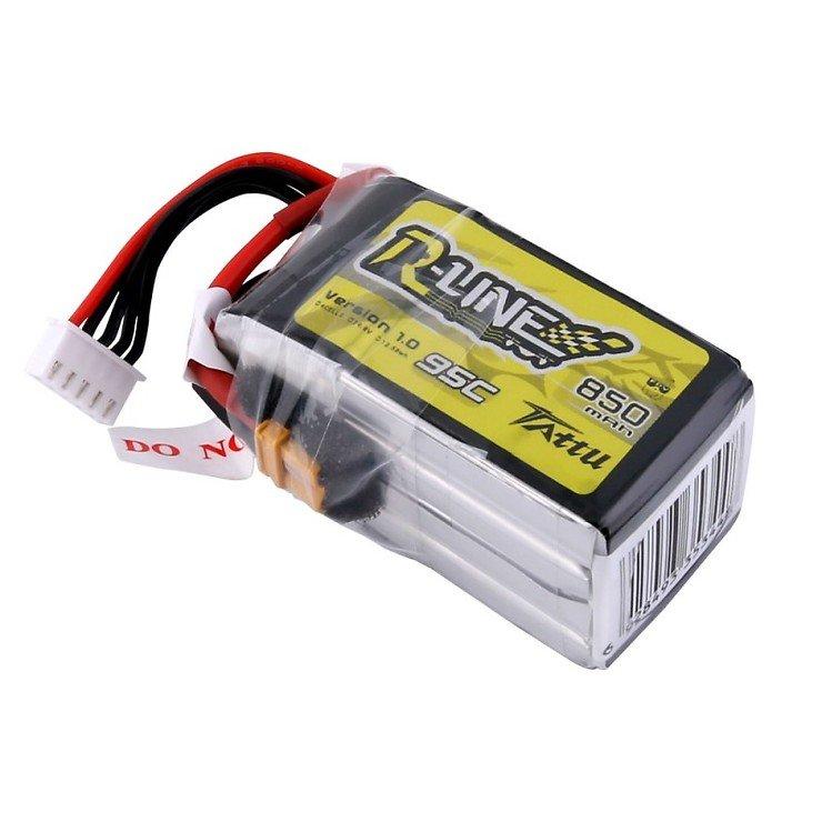 Tattu R-Line Batterie LiPo Akku 850mAh 95C 4S1P XT30 - Pic 4