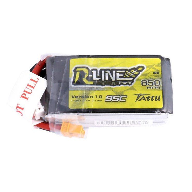 Tattu R-Line Batterie LiPo Akku 850mAh 95C 4S1P XT30 - Pic 1