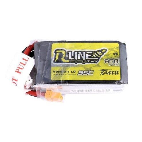 Tattu R-Line Batterie LiPo Akku 850mAh 95C 4S1P XT30