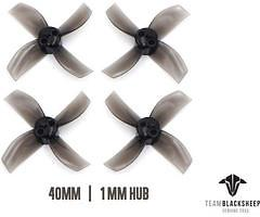 TBS Micro Brushless 4 Blatt Propeller 40mm 2CW 2CCW
