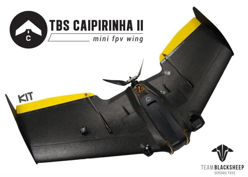 TBS Caipirinha 2 FPV Wing - KIT - Pic 1