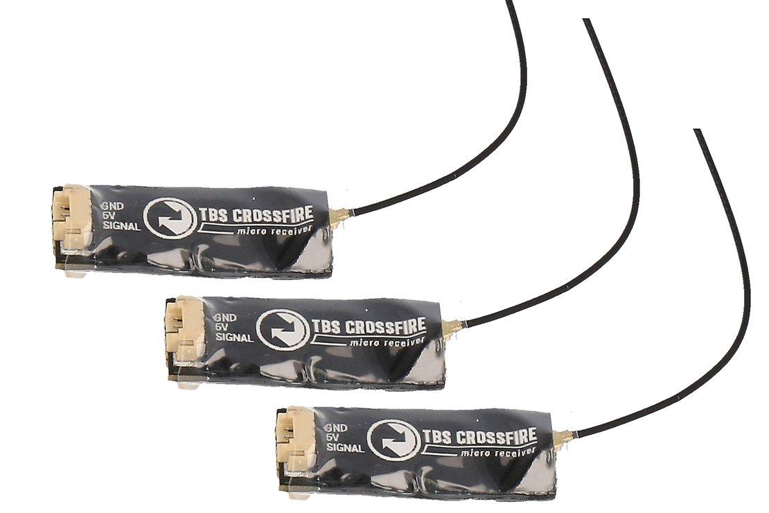 TBS Crossfire Micro Empfänger V2 RX - 3er Bundle - Pic 1