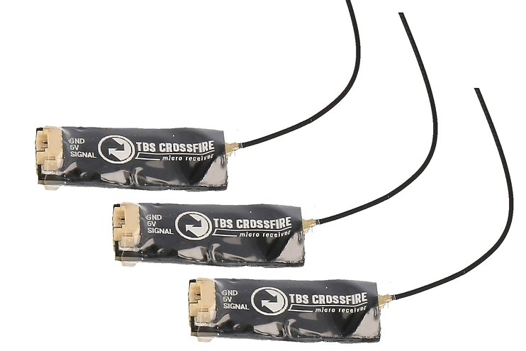 TBS Crossfire Micro Empfänger V2 RX - 3er Bundle