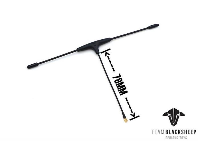 TBS Crossfire Micro Empfänger - Immortal T Antenne (RX) V2