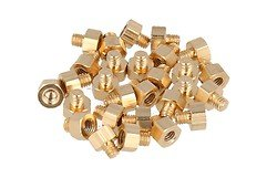 TBS Powercube Aluminum Gold Standoffs