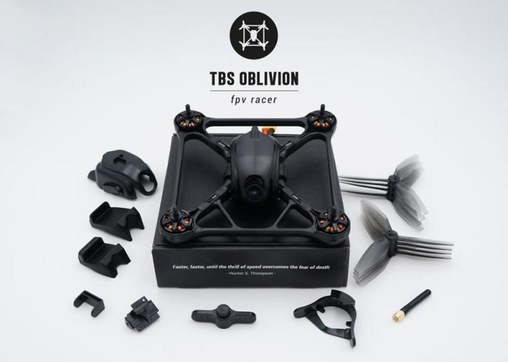 TBS Oblivion FPV Race Copter PNP - Pic 3