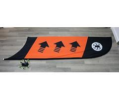 TBS Racing Flagge Checkpoint oder Kurve (Orange)