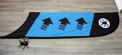 TBS Racing Flagge Checkpoint oder Kurve (Blue)