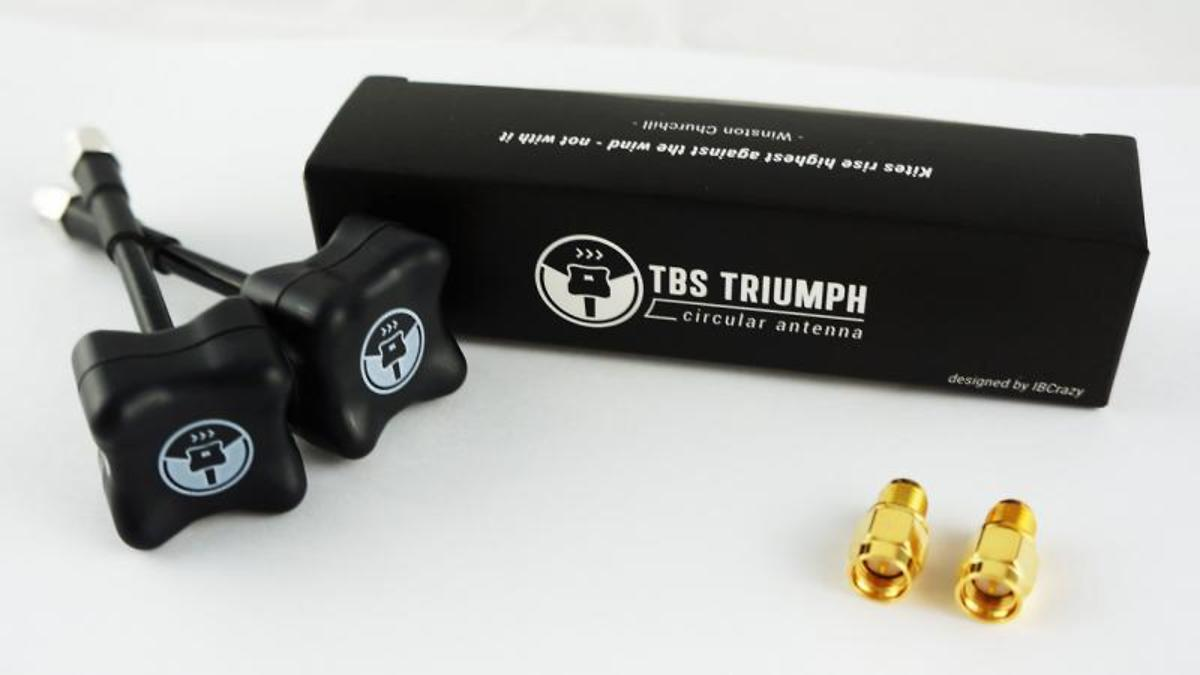 TBS Triumph 5,8 GHz SMA Antennen Set  (2pcs) - Pic 3