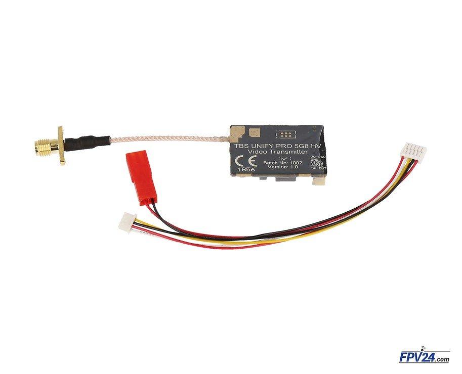 TBS Unify Pro HV Hochvolt 5.8 GHz FPV Sender RP-SMA - Pic 1