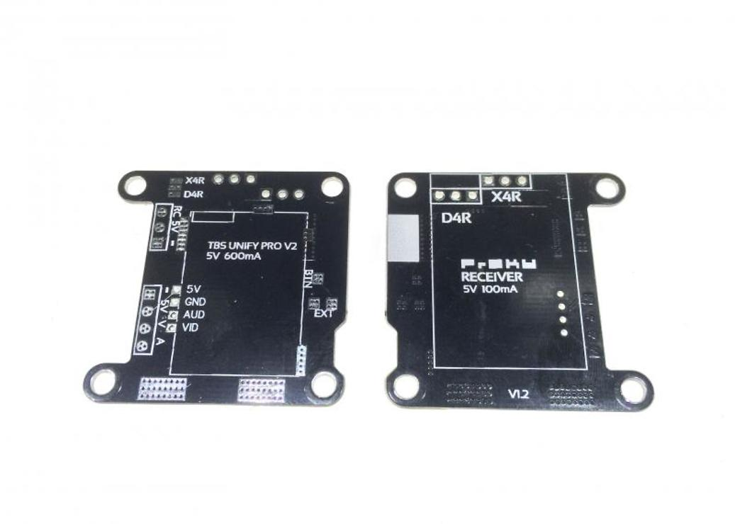 TBS Unify 5V / FrSky RX Mount Board - Pic 2