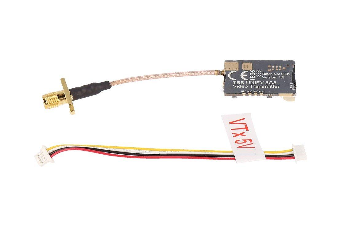 TBS Unify PRO V3 25mW 5.8 GHz A/V Sender RP-SMA - Pic 2