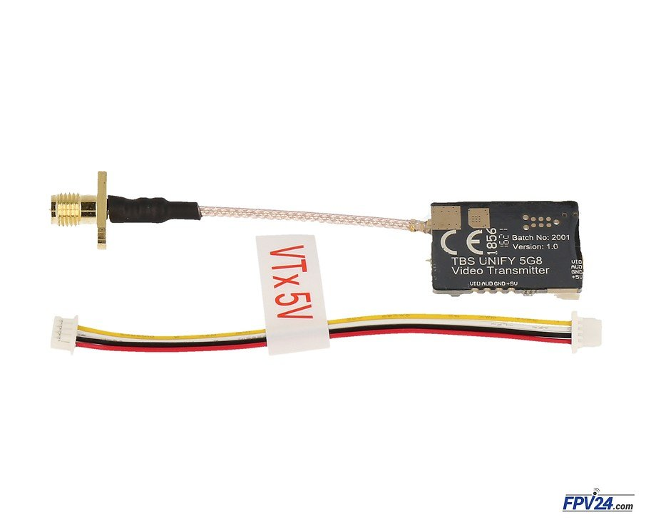 TBS Unify PRO 25mW 5.8 GHz A/V Sender - Pic 1
