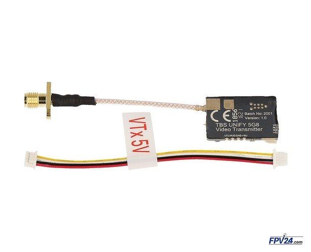 TBS Unify PRO 25mW 5.8 GHz A/V Sender