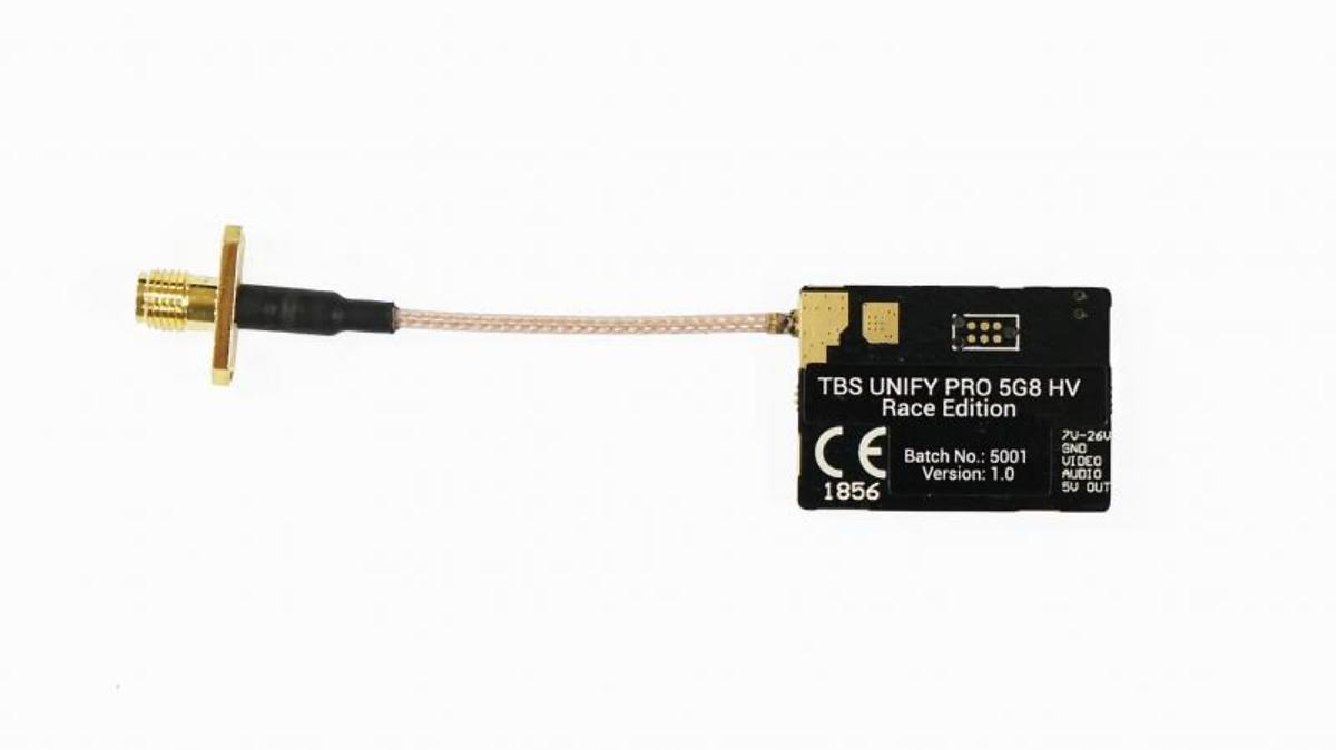 TBS Unify Pro Race 5.8 GHz HV Hochvolt FPV Sender SMA - Pic 1