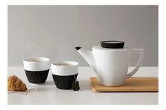 Viva Scandinavia Tee Set Infusion 3-teilig Porzellan Silikon schwarz