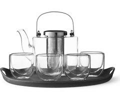 Viva Scandinavia Tee Set Bjorn Glas Silikon schwarz