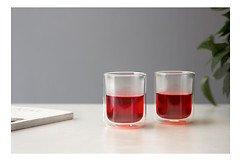 Viva Scandinavia Teeglas 2er Set Classic 0,3 l Glas doppelwandig transparent