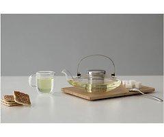 Viva Scandinavia Teekanne Infusion Leaf 0,58 l Glas Edelstahl
