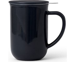 Viva Scandinavia Teetasse Minima Balance Porzellan schwarzblau