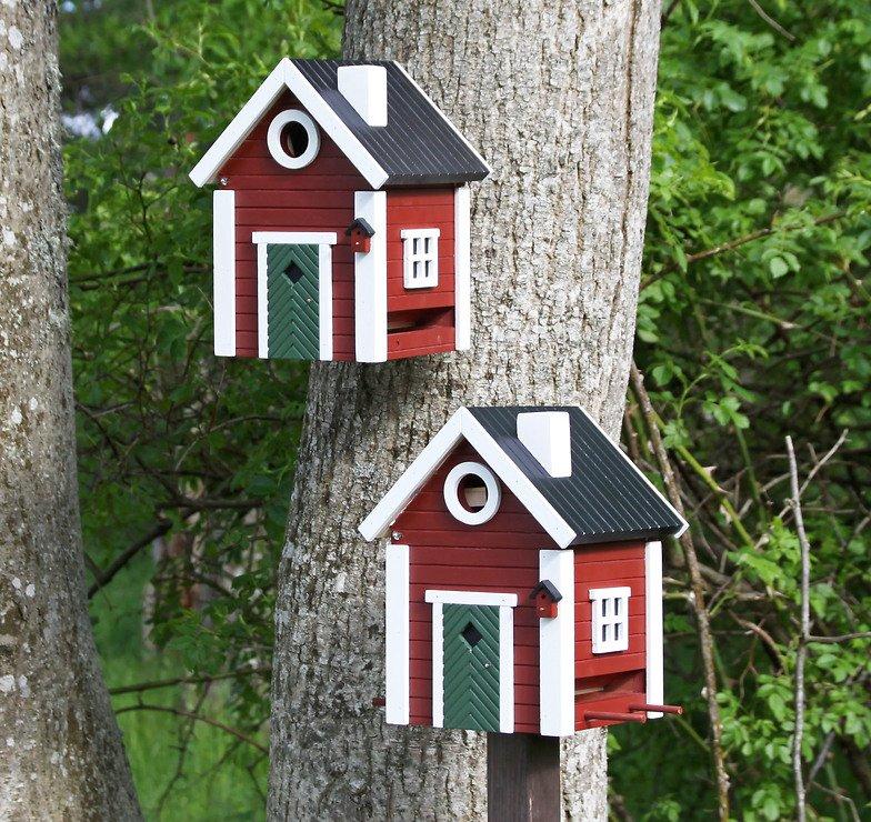 Wildlife Garden Vogelhaus Multiholk Schwedenkate plus - Pic 1