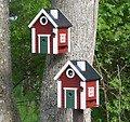 Wildlife Garden Vogelhaus Multiholk Schwedenkate plus - Thumbnail 1