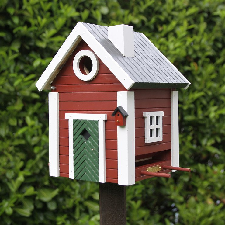 Wildlife Garden Vogelhaus Multiholk Schwedenkate plus - Pic 3