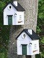 Wildlife Garden Vogelhaus Multiholk Weißes Haus plus - Thumbnail 3