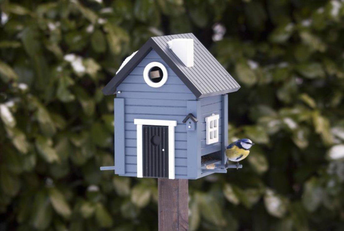 Wildlife Garden Multiholk Vogelhaus Blue House plus - Pic 1