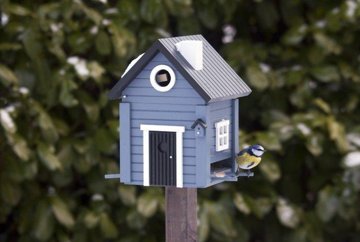 Wildlife Garden Multiholk Vogelhaus Blue House plus