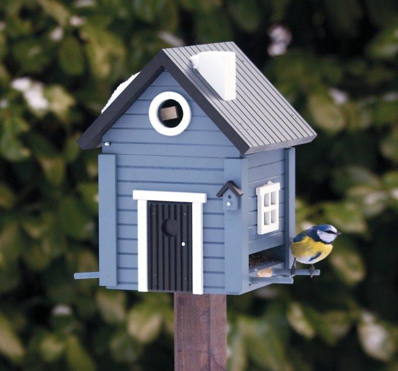 Wildlife Garden Multiholk Vogelhaus Blue House plus - Pic 2