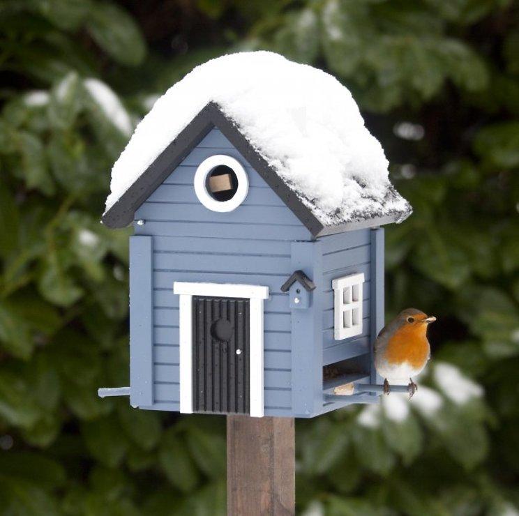 Wildlife Garden Multiholk Vogelhaus Blue House plus - Pic 4