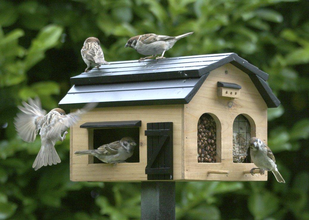 Wildlife Garden Vogelhaus Futterscheune natur - Pic 2