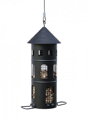 Wildlife Garden Vogelhaus Kombi-Futterstelle schwarz