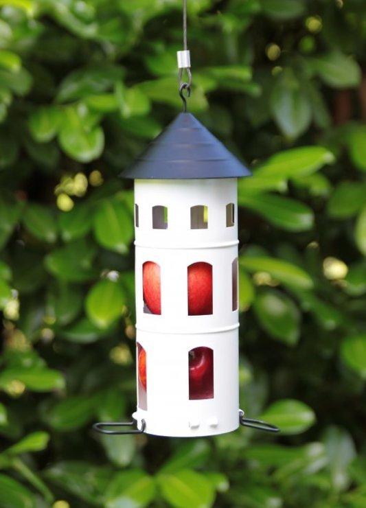 Wildlife Garden Vogelhaus Kombi-Futterstelle weiß - Pic 1