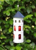 Wildlife Garden Vogelhaus Kombi-Futterstelle weiß